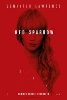 Red Sparrow - Danish Movie Poster (xs thumbnail)