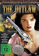 The Outlaw - German DVD cover (xs thumbnail)