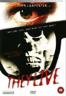 They Live - British DVD movie cover (xs thumbnail)