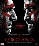 Coriolanus - Norwegian Blu-Ray cover (xs thumbnail)