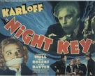 Night Key - British Movie Poster (xs thumbnail)