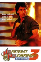 No Retreat, No Surrender 3: Blood Brothers - British Movie Cover (xs thumbnail)
