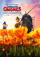 Sherlock Gnomes - Dutch Movie Poster (xs thumbnail)