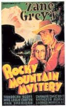 Rocky Mountain Mystery - Movie Poster (xs thumbnail)
