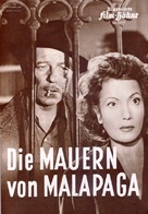 Mura di Malapaga, Le - German Movie Poster (xs thumbnail)