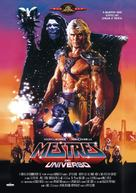 Masters Of The Universe - Brazilian Movie Cover (xs thumbnail)