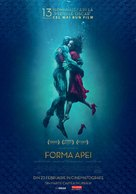 The Shape of Water - Romanian Movie Poster (xs thumbnail)