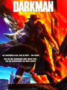 Darkman - German DVD cover (xs thumbnail)