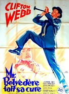 Mr. Belvedere Rings the Bell - French Movie Poster (xs thumbnail)