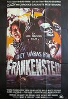 Young Frankenstein - Swedish Movie Poster (xs thumbnail)