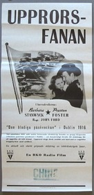 The Plough and the Stars - Swedish Movie Poster (xs thumbnail)
