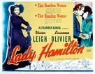 That Hamilton Woman - British Movie Poster (xs thumbnail)