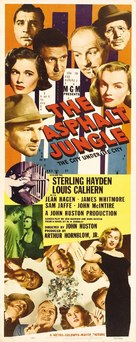 The Asphalt Jungle - Movie Poster (xs thumbnail)