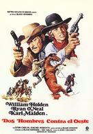 Wild Rovers - Spanish Movie Poster (xs thumbnail)