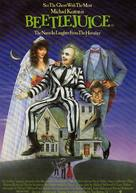Beetle Juice - British Movie Poster (xs thumbnail)