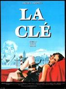 La chiave - French Movie Poster (xs thumbnail)
