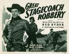 Great Stagecoach Robbery - Re-release poster (xs thumbnail)