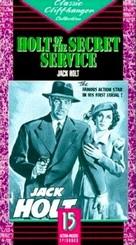 Holt of the Secret Service - VHS cover (xs thumbnail)