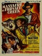 Fury at Furnace Creek - Belgian Movie Poster (xs thumbnail)