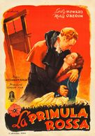 The Scarlet Pimpernel - Italian Movie Poster (xs thumbnail)