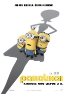 Minions - Lithuanian Movie Poster (xs thumbnail)