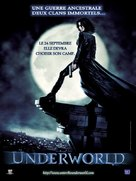 Underworld - French Movie Poster (xs thumbnail)