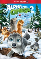 Alpha and Omega 2: A Howl-iday Adventure - DVD movie cover (xs thumbnail)