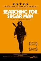 Searching for Sugar Man - Danish Movie Poster (xs thumbnail)