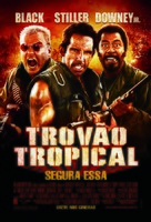 Tropic Thunder - Brazilian Movie Poster (xs thumbnail)