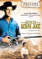 Stranger on Horseback - French DVD movie cover (xs thumbnail)