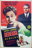 Rebecca - Danish Movie Poster (xs thumbnail)