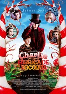 Charlie and the Chocolate Factory - Spanish Movie Poster (xs thumbnail)