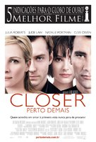 Closer - Brazilian Movie Poster (xs thumbnail)