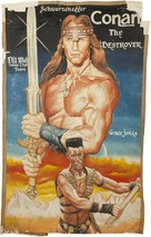 Conan The Destroyer - Ghanian Movie Poster (xs thumbnail)