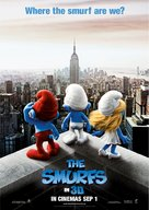 The Smurfs - Singaporean Movie Poster (xs thumbnail)