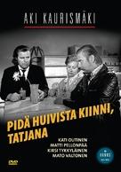 Pidä huivista kiinni, Tatjana - Finnish DVD cover (xs thumbnail)