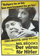 The Producers - Swedish Movie Poster (xs thumbnail)