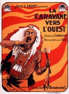 The Covered Wagon - French Movie Poster (xs thumbnail)
