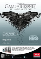 """Game of Thrones"" - Singaporean Movie Poster (xs thumbnail)"