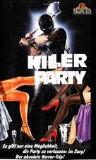 Killer Party - German VHS cover (xs thumbnail)