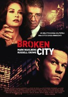 Broken City - Italian Movie Poster (xs thumbnail)