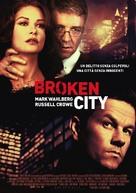 Broken City - Italian Movie Poster (xs thumbnail)