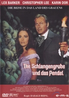 Die Schlangengrube und das Pendel - German Movie Cover (xs thumbnail)