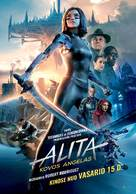Alita: Battle Angel - Lithuanian Movie Poster (xs thumbnail)