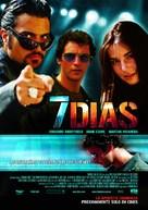 7 días - Mexican poster (xs thumbnail)