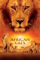 African Cats - Movie Poster (xs thumbnail)