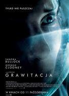 Gravity - Polish Movie Poster (xs thumbnail)