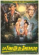 The Emerald Forest - Italian Movie Poster (xs thumbnail)