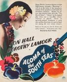 Aloma of the South Seas - poster (xs thumbnail)