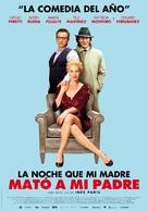 La noche que mi madre mató a mi padre - Argentinian Movie Poster (xs thumbnail)